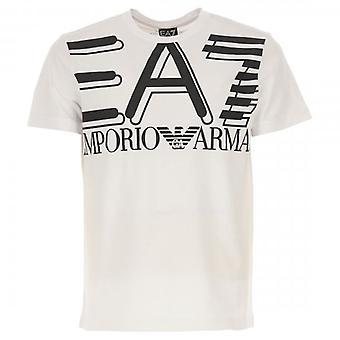 EA7 Emporio Armani Logo Crew Neck T-Shirt Grey 3HPT09 PJ02Z