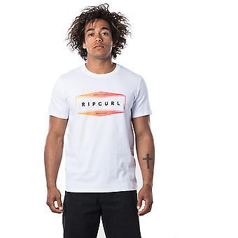 Rip Curl Neon T-shirt met korte mouwen in optisch wit