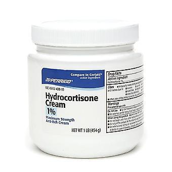 Perrigo hydrocortisone cream 1% maximum strength anti-itch cream, 1 lbs