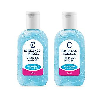 2-pack Cleansing Hand Gel With Alcohol 50ml