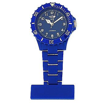 Prince London Funky Blue Rotating Bezel Unisex Nurses Fob Watch PI-4020