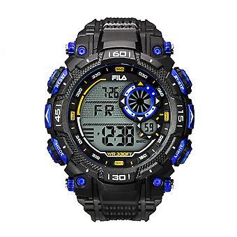 Kijken Fila 38-826-001-Watch R sinus Noir 53 mm mannen