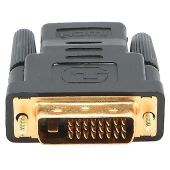 HDMI to DVI adapter GEMBIRD A-HDMI-DVI-2 Black