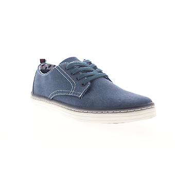 Ben Sherman Bulldog Derby  Mens Blue Canvas Lifestyle Sneakers Shoes