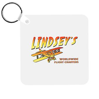 Indiana Jones Jock Lindsays Flight Charters Keyring