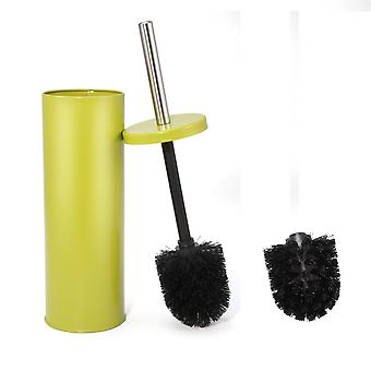 Green Toilet brush set