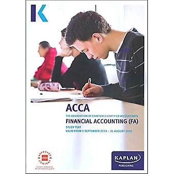 FINANCIAL ACCOUNTING - STUDY TEXT by KAPLAN PUBLISHING - 978178740389