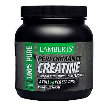 LAMBERTS Performance Kreatiini jauhe 500g (7012-500)