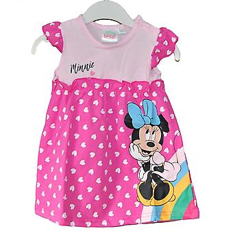 Disney Minnie Baby Summer Dress, Różowy, 80 cm