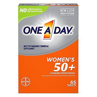 One a day women's 50+ healthy advantage multivitamin/multimineral supplement, tablets, 65 ea