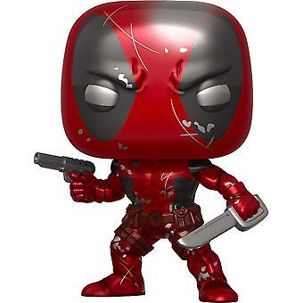 Deadpool 1st Appearance Metallic 80th An. US Excl Pop! Vinyl