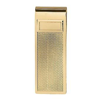 Orton West Textured Money Clip - Gold