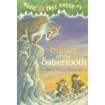 Sunset of the Sabertooth by Mary Pope Osborne - Salvatore Murdocca -