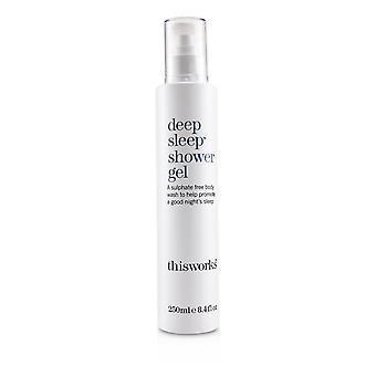 Deep sleep shower gel 250ml/8.4oz