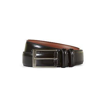 Leather belt harry black