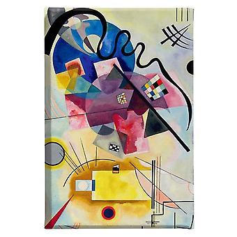 Autores' Inspiração 180 Pintura Multicolor em PES, Madeira, L60xP3xA90 cm