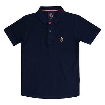 Boy's Luke 1977 Junior Wiliams Polo Shirt in Blue