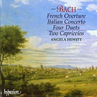 J.S. Bach - Bach: Italian Concerto; French Overture; Four Duets; Two Capriccios [CD] USA import
