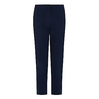 PENNY PLAIN Denim Twill Cropped Trousers