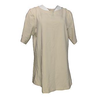 Denim & Co. Women's Top Essentials Perfect Jersey Tunic Beige A307452