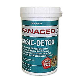Panacéo basic-detox 200 g de poudre
