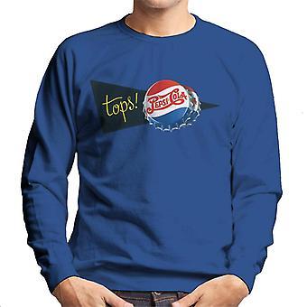 Pepsi Cola Retro Tops Men's Sweatshirt