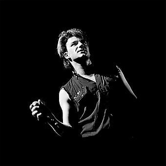 Bono Of U2 War Tour UK 1983 Key Ring