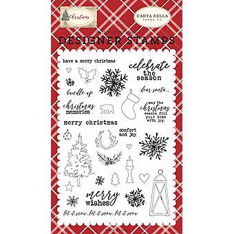 Carta Bella Souvenirs de Noël Timbres clairs