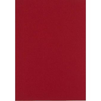 Papicolor 6X Cardboard 210X297mm-A4 Christmas-Red