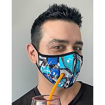 Andrew Christian mouthcap Safer Outdoor Shockwave Mask