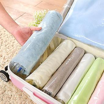 12pcs Vacuum Bag Îmbrăcăminte de compresie Sac de stocare - Salvarea Space Seal Packet