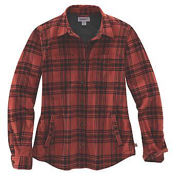 Carhartt Women's Fleece Jacket Hamilton Plaid