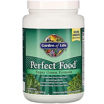 Garden of Life, Comida perfecta, Fórmula súper verde, 21.16 oz (600 g)
