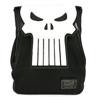 Loungefly Marvel Comics Punisher Skull Cosplay Mini Rugzak Tas