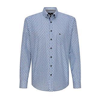 Fynch-Hatton Fynch-hatton Long Sleeved Button Down Shirt Merlot