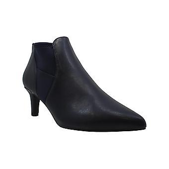 Easy Street Saint Women's Boot (Blue - Size 6.5 - Faux Leather)
