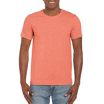 GILDAN G64000 Softstyle Men's T-Shirt dans Heather Orange