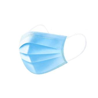 50-pack mouthguard, protective mask, breathing mask 3 layers