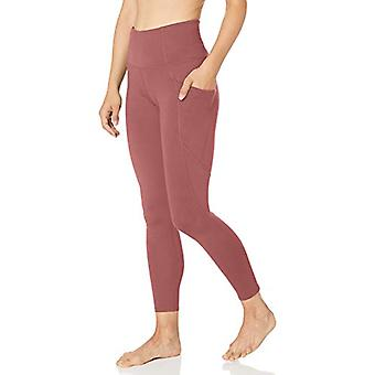 Core 10 Women's All Day Comfort High Waist Yoga Legging with, Rose, Size X-Small
