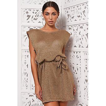 Glitter Knitted Dress