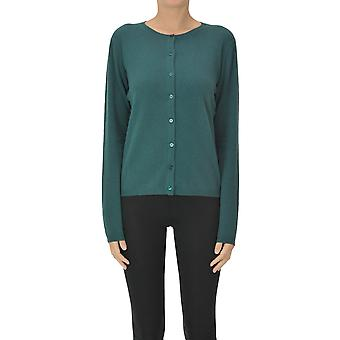 Aspesi Ezgl050103 Mulheres's Cardigan de Cashmere Verde