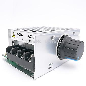 220v Ac Voltage Regulator Motor Speed Control- Pwm Controller Scr 4000w Dimmers Rectifier