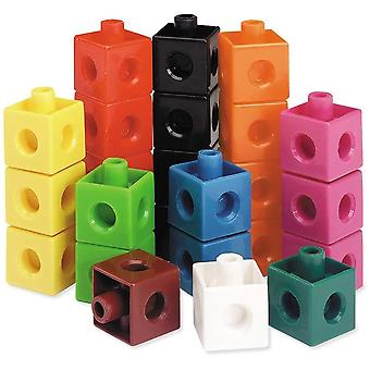 Activity Learning Snap Cubes (Set Of 100)