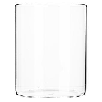 Argon Tableware Minimalistic Storage Jar - Round Scandinavian Style Versatile Glass Canister - 750ml