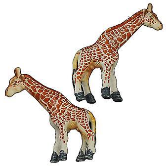 Ties Planet Giraffe Wildlife Safari Animal Cufflinks