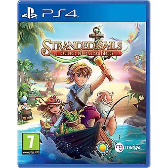 Stranded Sails: Explorers Of The Cursed Islands PS4 Jeu