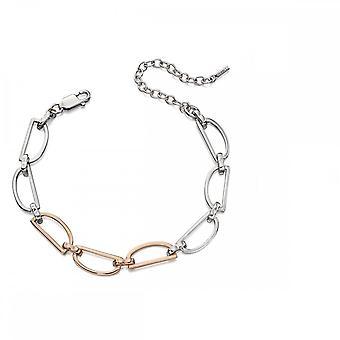 Fiorelli Silver D Ring Bracelet B5051