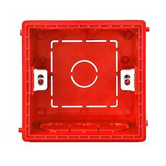 Atlectric تركيب مربع- كاسيت التبديل مآخذ المقبس صندوق تقاطع، مخفي مخفي