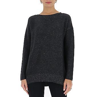 Fabiana Filippi Mad220w063c417vr5 Women's Black Wool Sweater