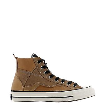 Converse 169140c830 Men's Brown Suede Hi Top Sneakers